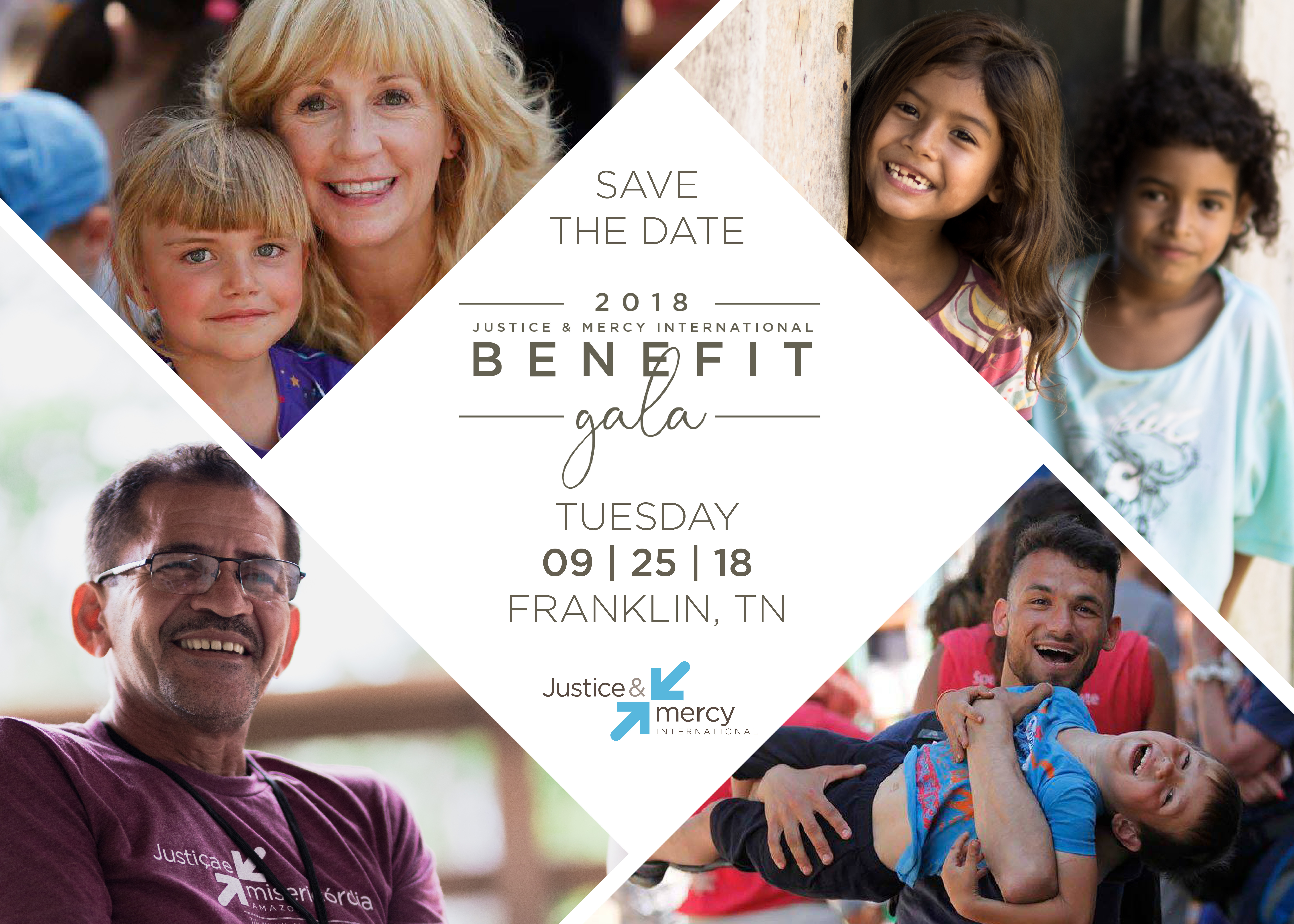 Save the Date - Justice and Mercy International