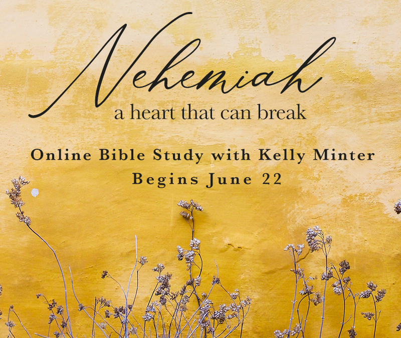 Study Nehemiah with Kelly Minter this Summer