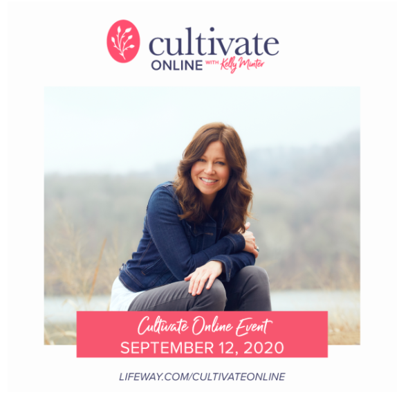 Kelly Minter's Cultivate Event is Coming to You!