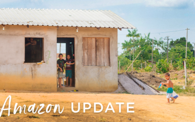An update from Sarah in the Amazon
