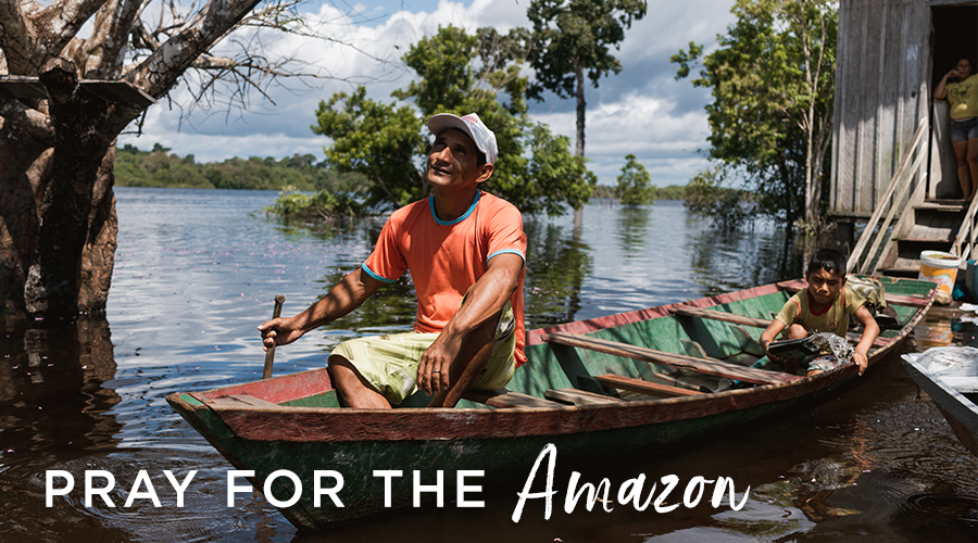 Extreme flooding in the Amazon
